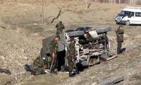 Hakkari'de askeri araç devrildi: 2 şehit