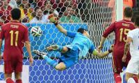 İspanyollar Dünya Kupası'na veda etti