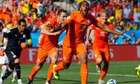 Hollanda gruptan lider çıktı