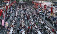 Sivas'ta iftar rekoru kırıldı