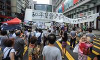 Çinli göstericiler hükümetle görüşmeyi iptal etti