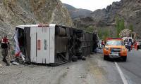 Sivas'ta yolcu otobüsü dehşeti: 36 yaralı