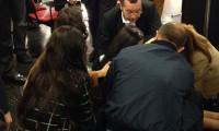 Aysal'ın basın toplantısında panik