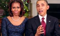 Obama çiftinden Kurban Bayramı kutlaması