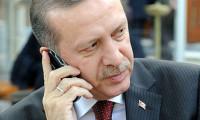 Erdoğan'dan Abe'ye telefon