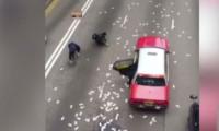 Milyonlarca dolar sokakta kapışıldı