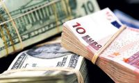 Dolar Euro karşısında düşüyor