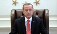 Erdoğan'dan şehitler için taziye mesajı