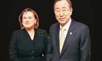 Ban Ki-Moon 3 yıl daha Güler Sabancı dedi