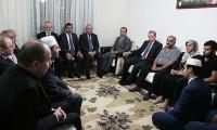 Cumhurbaşkanı şehit evini ziyaret etti