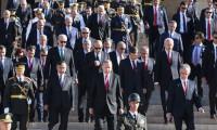 HDP'li Bakanlar 30 Ağustos resmi töreninde