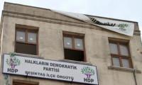 HDP Beşiktaş ilçe binasında yangın