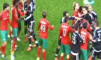 Moskova'da saha karıştı: 1 kırmızı kart