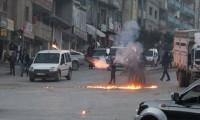Şemdinli'de PKK protestosuna halktan tepki