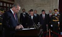 Erdoğan Anıtkabir özel defterine ne yazdı