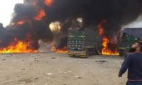 Rusya sınırda insani yardım TIR'larını vurdu!