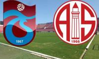 Trabzonspor Antalyaspor'u ağırlıyor