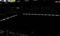Başakşehir'de elektrikler kesildi oyun durdu