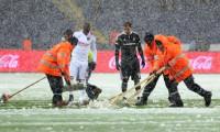 Beşiktaş maçı kar yağışı nedeniyle ertelendi