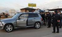 Antalya'da iş adamına cipinde silahlı saldırı