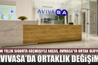 AvivaSA'da ortaklık değişimi: Ageas, AvivaSA'ya ortak oluyor