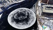 Buz diski oluştu