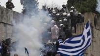 Yunanistan'da olaylı 'Makedonya' gösterisi