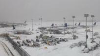 ABD'de kar fırtınası hayatı durdurdu...