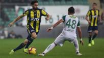 Fenerbahçe Bursaspor'la berabere kaldı