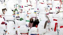 Çin'de 2019 Kar Festivali için 2 bin 19 kardan adam