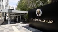 Dışişleri Bakanlığı AB'yi kınadı