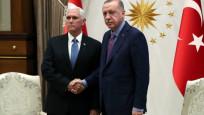 Erdoğan-Pence görüşmesi bitti