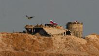 YPG karargahına Rusya bayrağı asıldı