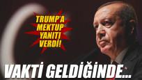 Erdoğan Trump'ın mektubuna cevap verdi