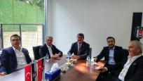 Ahmet Nur Çebi, Serdal Adalı'yı ziyaret etti