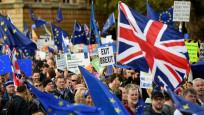 Brexit karşıtı 1 milyon kişi Londra'da yürüdü!