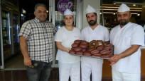'Mor ekmek' ilk kez Malatya'da üretilmeye başlandı