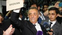 Beşiktaş'ın 34. başkanı Ahmet Nur Çebi oldu