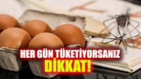 İşte her gün tüketilen yumurtanın zararları