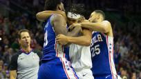 NBA'de ortalık karıştı! Birbirlerine girdiler...