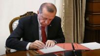 Erdoğan'ın imzaladığı atamalar Resmi Gazete'de