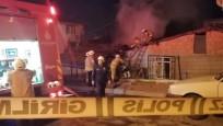 Sultanbeyli'de gecekondu yangını