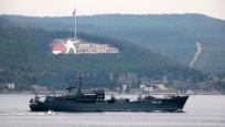 Rus savaş gemileri, peş peşe Çanakkale Boğazı'ndan geçti