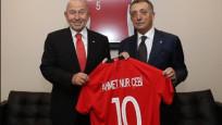 Beşiktaş yönetimi, TFF Başkanı Özdemir'i ziyaret etti