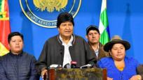 Morales'i istifaya çağıran generale büyük şok