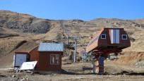 Hakkari'de kayak merkezi kışa hazır