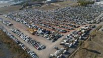 Yüzlerce araç hurdaya döndü! Satılamıyor