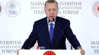 Erdoğan'dan Macron'a tepki: Beyin ölümünü kontrol ettir