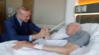 Cumhurbaşkanı Erdoğan eski Adalet Bakanı Kazan'ı ziyaret etti