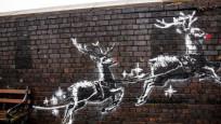 Banksy'nin son eseri kısa sürede tahrif edildi